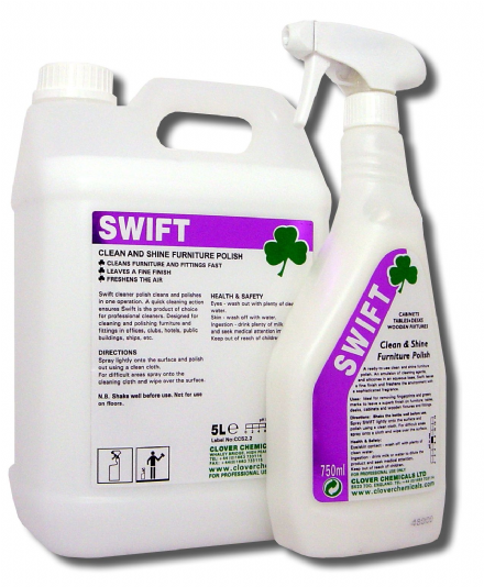 Clover Swift - Clean and Shine Furniture Polish